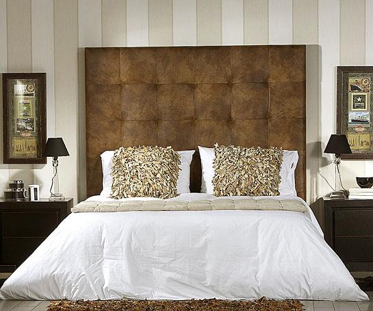 Cabecero colonial hilton en - Cabeceros de cama tapizados ...