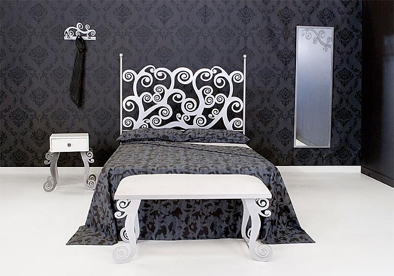 Cabecero y cama barroc en - Cojines para cabeceros de cama ...