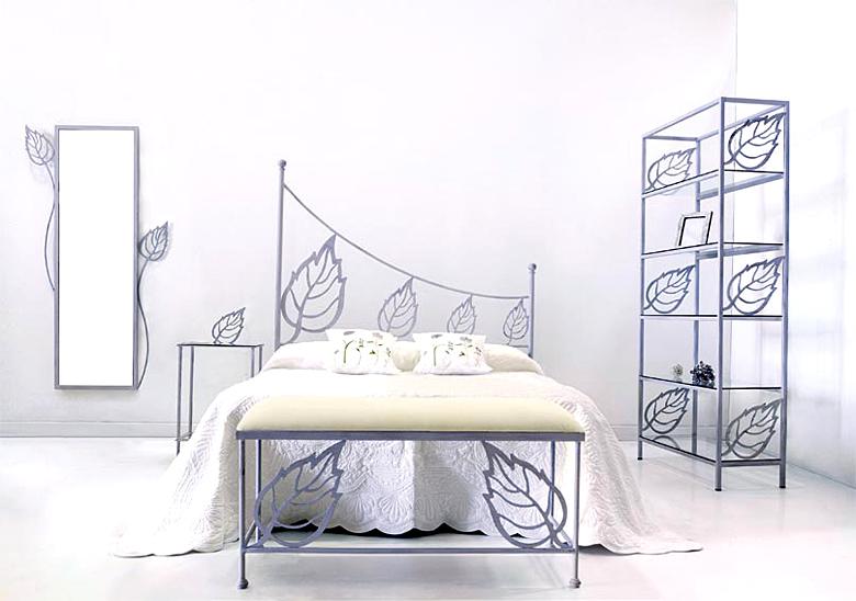 Cabecero y cama iris de forja no disponible en - Cabeceros cama de forja ...