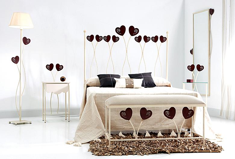 Cabecero y cama julieta en - Cabeceros cama de forja ...