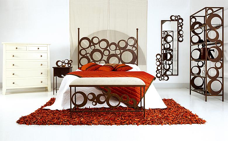 Dormitorio de forja pop en - Cabeceros de camas modernos ...