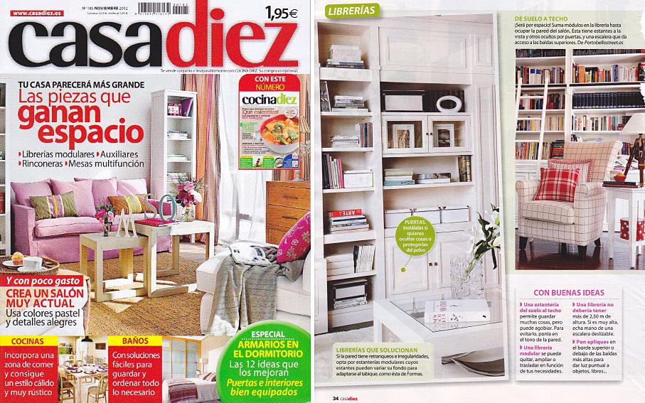 PortobelloStreet.es en Revista Casa Diez - Noviembre 2012 Portada y ...