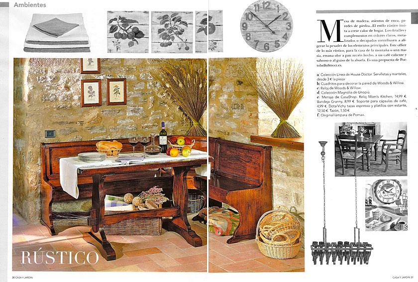 En revista casa y jard n enero 2011 for Casa y jardin revista