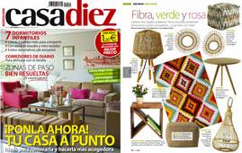 Revista Casadiez - Septiembre 2016 Portada y Página 30