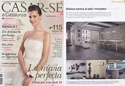 Revista Casar-se - Marzo 2014 Portada y P�gina 73