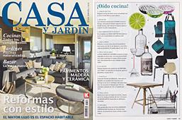 Revista Casa y Jard�n - Marzo 2014 Portada y P�gina 13