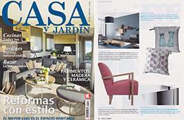 Revista Casa y Jard�n - Marzo 2014 Portada y P�gina 22