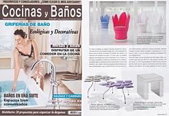 Revista Cocinas y Ba�os - Marzo 2014 Portada y P�gina 37