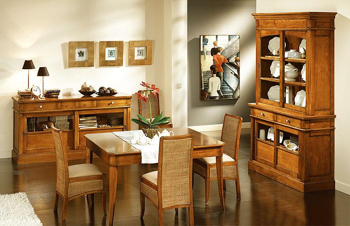 Comedor opera ii en for Muebles comedor madera