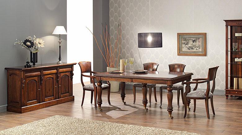 Comedor victoriano manivela rectangular no disponible en for Imagenes muebles comedor