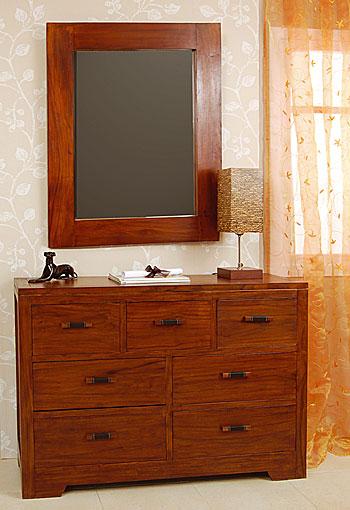 C moda 7 cajones colonial canes no disponible en - Comoda con espejo ikea ...