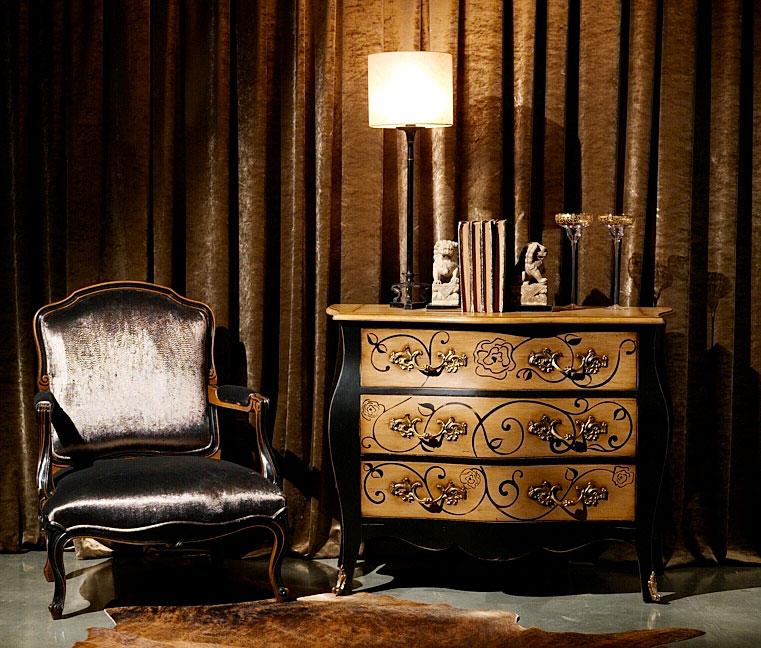 C moda 3 cajones cl sica luis xvi en cosas de - Muebles comodas clasicas ...