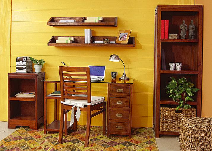 Conjunto escritorio cristal no disponible en for Muebles de despacho baratos