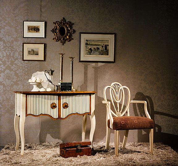 Consola 2 puertas vintage style en for Muebles vintage baratos online