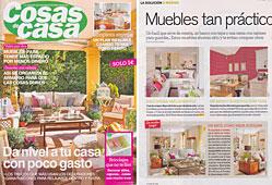 Revista Cosas de Casa - Junio 2014 Portada y P�gina 8
