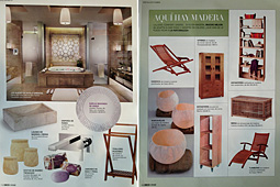 Revista Woman Deco - Mayo 2013 P�ginas 116 y 130