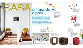 Revista Dentro de Casa - Febrero 2014 Portada y P�gina 36