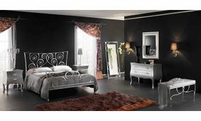 Dormitorio de Forja Sethunia Plata