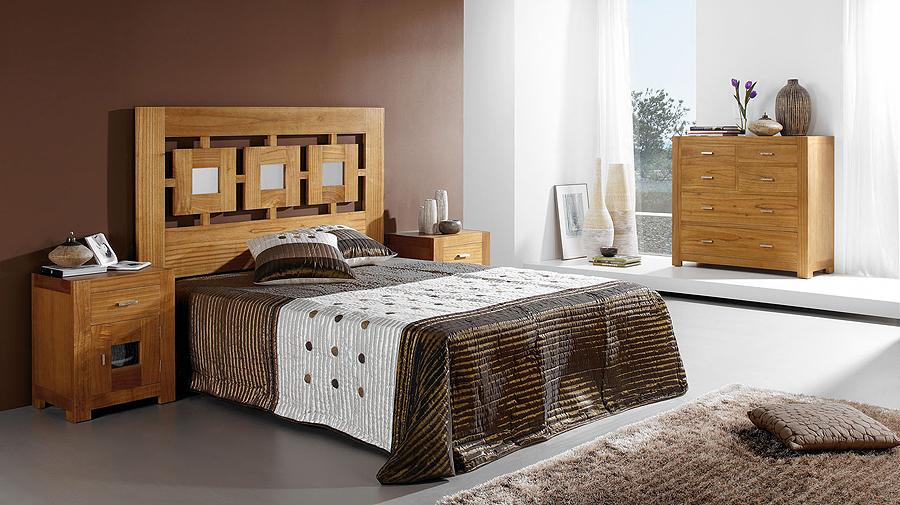 Dormitorio colonial natural en for Portobello muebles coloniales