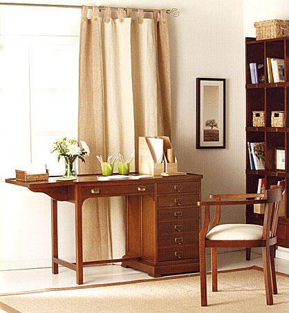 Mesa de escritorio colonial ghana en cosas de for Portobello muebles coloniales