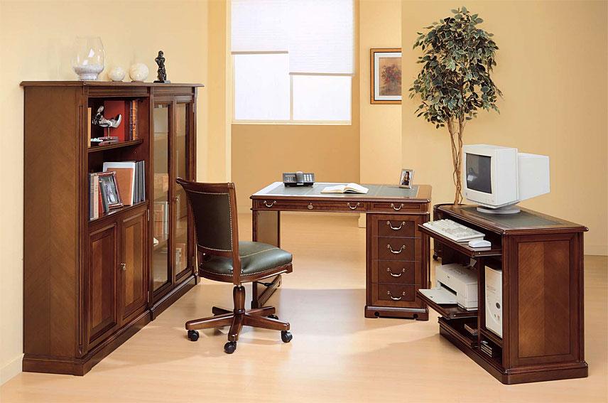 Mesa de escritorio cl sica heston en cosas de for Muebles escritorios clasicos