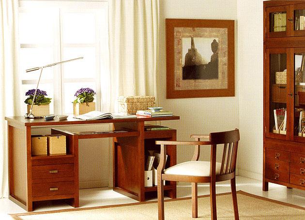 Mesa de escritorio colonial new age en cosas de - Mesa escritorio colonial ...