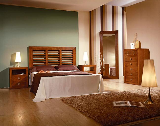 Dormitorio colonial listones sunkai no disponible en - Cabeceros coloniales ...