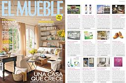 Revista El Mueble - Abril 2014 Portada y P�gina 5