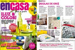 Revista En Casa - Marzo 2014 Portada y P�gina 32