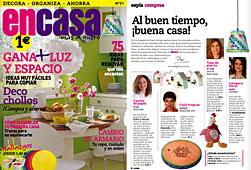 Revista En Casa - Mayo 2014 Portada y P�gina 4