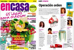 Revista En Casa - Febrero 2015 Portada y P�gina 4