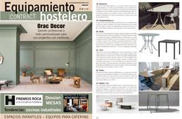 Revista Equipamiento Hostelero - Julio 2016 Portada y P�gina 82