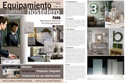Revista Equipamiento Hostelero - Agosto 2016 Portada y Página 74