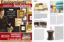 Revista Equipamiento Hostelero - Julio 2015 Portada y P�gina 58