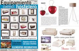 Revista Equipamiento Hostelero - Junio 2015 Portada y P�gina 39