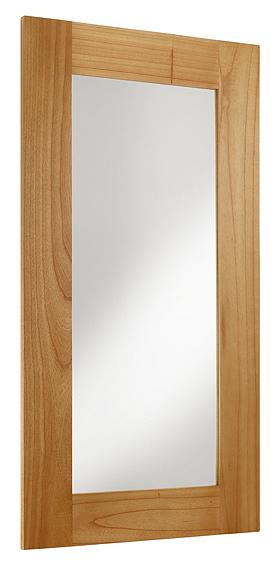 Espejo grande colonial natural for Espejo grande madera