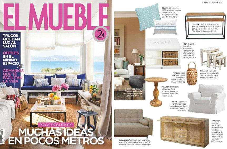 En revista el mueble julio 2015 for Muebleria el mueble