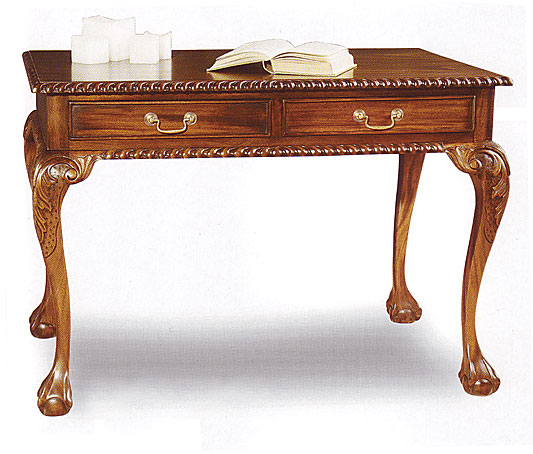 Escritorio 2 cajones cl sico chippendale no disponible en - Muebles escritorios clasicos ...