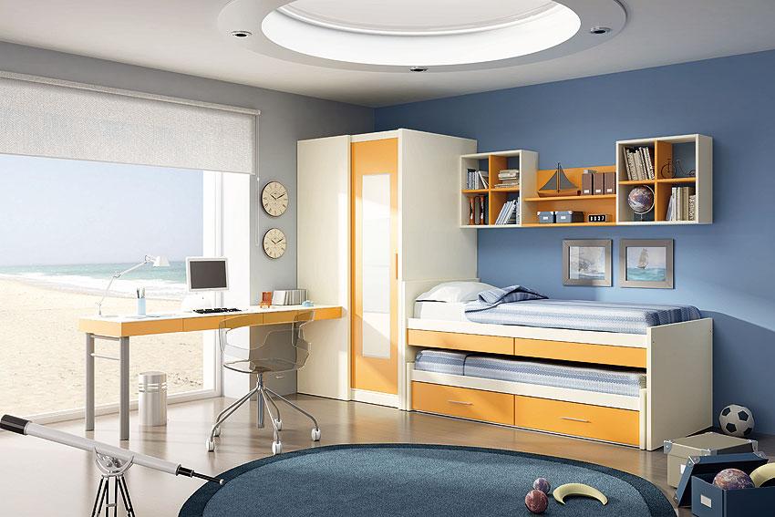 Muebles Martin Peñasco:  Dormitorio Pirineo bravo - Dormitorios Infantiles y Juveniles - Muebles Infantiles