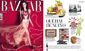 Revista Bazaar Harper�s - Abril 2014 Portada y P�gina 273