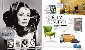 Revista Bazaar Harper�s - Julio 2014 Portada y P�gina 217
