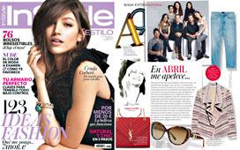 Revista InStyle - Abril 2015 Portada y P�gina 6