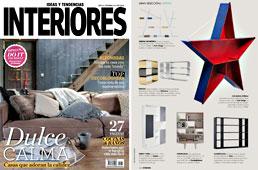 Revista Interiores - Noviembre 2014 Portada y P�gina 132