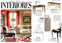 Revista Interiores - Enero 2015 Portada y P�gina 59