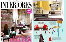 Revista Interiores - Mayo 2015 Portada y P�gina 130