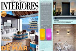 Revista Interiores - Junio 2015 Portada y P�gina 122
