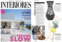 Revista Interiores - Julio 2015 Portada y P�gina 20