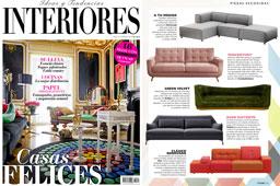 Revista Interiores - Mayo 2016 Portada y P�gina 55