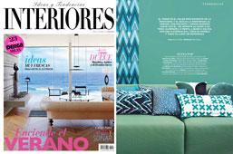 Revista Interiores - Junio 2016 Portada y P�gina 5