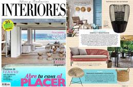 Revista Interiores - Julio 2016 Portada y P�gina 125